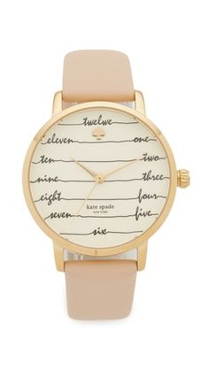 I love this Kate Spade New York Metro Watch!