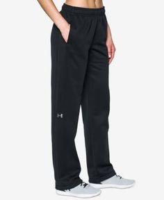 Under Armour Double Threat Armour Fleece Pants - Black XXL Long