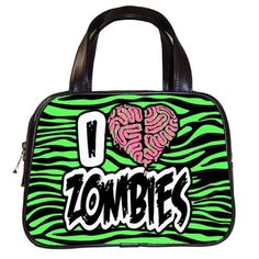 I Love Zombies Handbag Preorder Deposit by LttleShopOfHorrors, $10.00