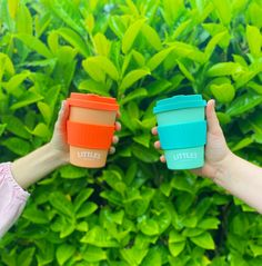 Super-bright reusable coffee cups from Little's Coffee Co. Little's Coffee, Coffee Cups, Reusable Coffee Cup, Instant Coffee, Bright, Coffee Mugs, Coffee Cup