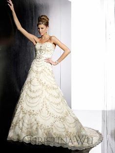 The Christina Wu Wedding Dresses have been a leader in the bridal industry for almost 20 years. Christina Wu offers gorgeous wedding dresses, that feature Colored Wedding Dresses, Wedding Dress Styles, Designer Wedding Dresses, Bridal Dresses, Wedding Gowns, Flower Girl Dresses, Gorgeous Wedding Dress, Beautiful Bride, Princess Ball Gowns