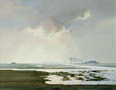 C r e a t i v e W o n d e r: The beautiful flat lands of Holland . . . exquisite watercolors . . . Gerrit Neven . the Netherlands