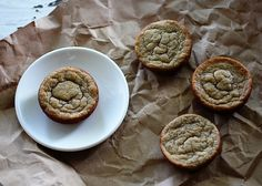 Blogger says about these banana muffins: After tasting one I almost cried.  ;)