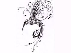 This is the tribal hummingbird tattoo that I want to honor my Grandma who passed away. Love it!