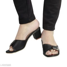 Others Bella Toes Women Block Heels Sandals_911 Black Material: Syntethic Leather Sole Material: PU Sizes:  IND-7 IND-6 IND-8 IND-3 IND-5 IND-4 Country of Origin: India Sizes Available: IND-8, IND-3, IND-4, IND-5, IND-6, IND-7   Catalog Rating: ★4.1 (1205)  Catalog Name: Modern Graceful Women Heels & Sandals CatalogID_1090967 C75-SC1061 Code: 045-6835226-999