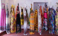 shopping in Zanzibar.