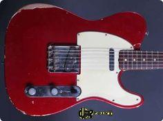 Fender Fender / Telecaster / 1964 / Candy Apple Red / vintage Guitar