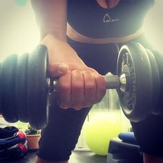 Work those arms. Early Morning Workouts, Toned Arms, Tone It Up, May 1, Weightlifting, Weights, Healthy Lifestyle, Lovers, Exercise