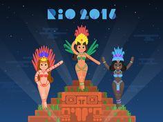 Rio 2016 illustration
