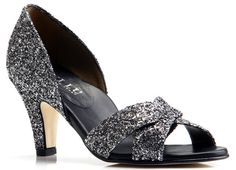 Love this shoe and the heel is not too high