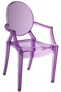 Purple Ghost Chair   - for the kitchen perhaps?  #kitchen #chair #Purple