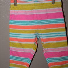 Stripe leggings, 12-18 months