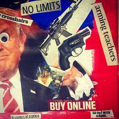 #guncontrol #nra #puppet #lobbying #presidentforsale #saveourkids #dumptrump #2020 #voteblue