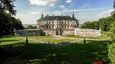 Pidhirtsi Castle - a Renaissance palace in the Lviv region, Ukraine