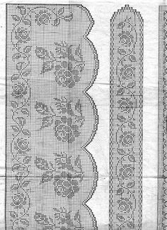 115 Fantastiche Immagini Su Filet Crochet Doilies Crochet Lace E