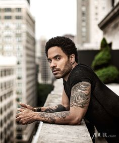 """When I hear music, it's visual; I see things."" - Lenny Kravitz"