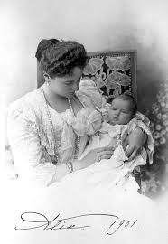 Infant Princess Anastasia Romanov, born in 1901, early 1900's ~ Inspiration for the character of Thomasina