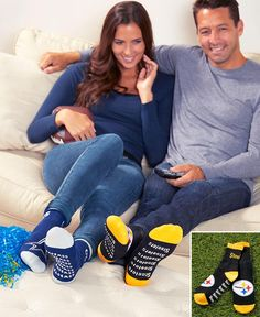 NFL Slipper Socks with Grippers|LTD Commodities