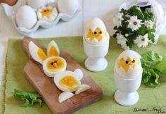 La ricetta e il tutorial su come preparare le Uova sode a forma di pulcino e coniglietto di Pasqua. Carinissime! Anche solo per decorare la tavola di Pasqua