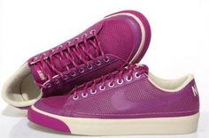 nike shox plus 8 - Nike Blazer Basse Suede VT Gym Bourgogne Rouge Chaussures Femmes ...