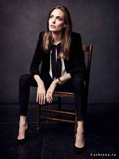 Анджелина Джоли для французского Elle