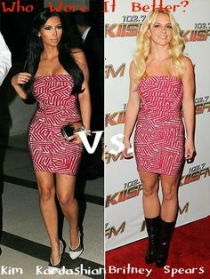 Who Wore it Better: Kim or Britney?
