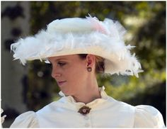 Image detail for -... Hats, Gloves » Victorian Tea Party Hat » Item ID: 1880CK-VTPH