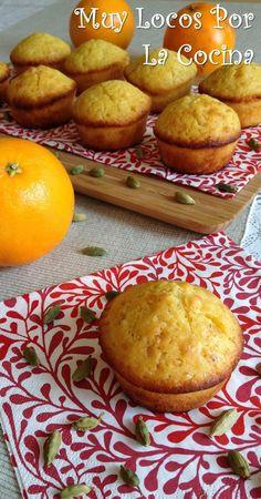 Twittear      Estos muffins tienen un sabor intenso a naranja que se complementa a la perfección con el aroma exótico del...