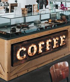 Coffee Sign Coffee Bar Sign Coffee Marquee Print Kitchen Decor Coffee Shop Gift for mom Rustic Farmhouse Canvas Art Distressed Faux Metal Café Restaurant, Modern Restaurant, Restaurant Interior Design, Best Coffee, Coffee Time, Coffee Coffee, Coffee Enema, Coffee Americano, Coffee Dripper