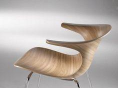 Resultado de imagem para Curving plywood chair futuristic