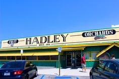 must grab a date shake at hadley orchard when in palm springs! (palm springs city guide)