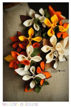 Felt Flower Design
