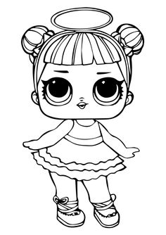 71 Best lol dolls images | Lol dolls, Lol, Coloring pages