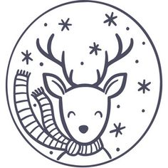 Image of design Informations About Silhouette Design Store: Reindeer Ornament Pin You can easily use Christmas Doodles, Christmas Drawing, Christmas Svg, Christmas Ornaments, Xmas, Reindeer Food Poem, Magic Reindeer Food, Wood Burning Patterns, Wood Burning Art