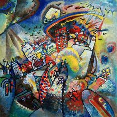 Wassily Kandinsky - Red Square