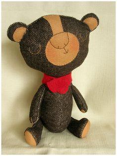 teddy bear by elbooga, via Flickr