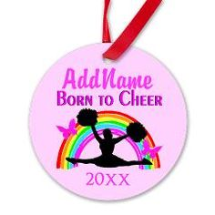 http://www.cafepress.com/sportsstar.935293783 Personalized and dated Cheerleader Christmas ornament #Cheerleader #Cheerleading #Cheering #Cheerleadingteam #Lovetocheer #Borntocheer #Cheerleadinggift #Cheerleadergift #Cheerleaderornament #Cheerleadergift