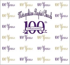 Metropolitan Baptist Church 100th, Step and Repeat 381573 | www.sign11.com