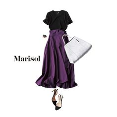 大人ピンクを小粋に着こなすなら白Tの次に狙うはシックなグレー!Marisol ONLINE|女っぷり上々!40代をもっとキレイに。