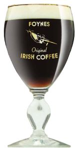 Irish Coffee. Linked to a how to make site.