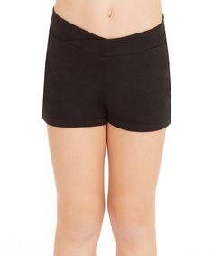 Look what I found on #zulily! Black Active Shorts - Toddler & Girls #zulilyfinds
