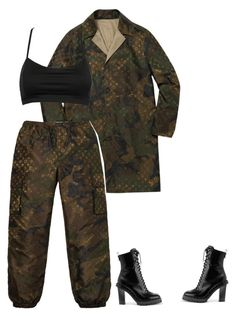 """""""P"""" by mollface ❤ liked on Polyvore featuring Louis Vuitton and Valentino"""