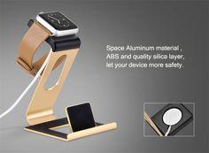 HOCO Aluminum Alloy Charging Stand Holder For Apple Watch iPhone 7/7 Plus iPad Pro 12.9 iPad Mini