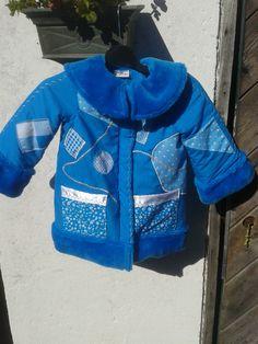 Lekker warm jasje Aqua