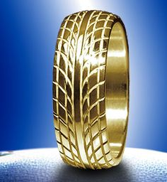 Tire Wedding Band Me Thinks This Is Epic