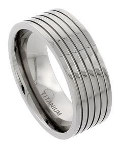 Sabrina Silver - Titanium Wedding & Engagement Rings - Afford Price:$12.24