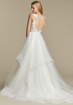 Blush by Hayley Paige 1600 Halo Wedding Dress - The Knot