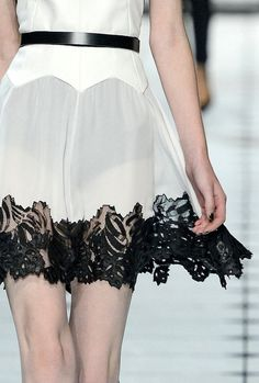 Jason Wu  2013 - Cut out leather that looks ...