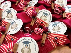My CountryRoom Sweet & Easy, Christmas Crafts, Christmas Ornaments, Party Decoration, Primitive Crafts, Graduation Gifts, Graduation Parties, Potpourri, Diy Party