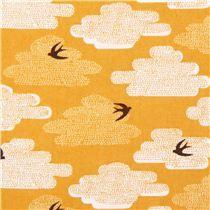 Free As A Bird yellow bird Cloud 9 animal organic fabric